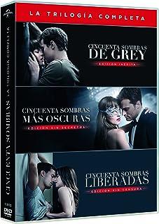 Cincuenta Sombras De Grey - Películas 1-3 DVD