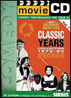 The Best of Saturday Night Live Classic Years Collection 1975-80 (Movie CD-ROM, Comedy Performance For Your PC) Volume 1