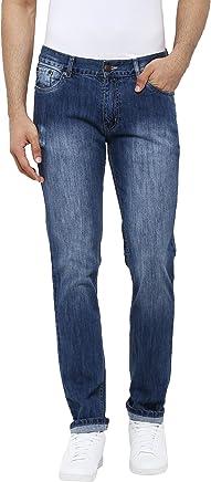 AMERICAN CREW Men's Denim Straight Fit Jeans