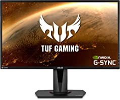 """ASUS TUF Gaming 27"""" 2K HDR Gaming Monitor (VG27AQ) - WQHD (2560 x 1440), 165Hz (Supports 144Hz), 1ms, Extreme Low Motion..."""
