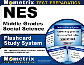 NES Middle Grades Social Science Flashcard Study System: NES Test Practice Questions & Exam Review for the National Evaluation Series Tests (Cards)