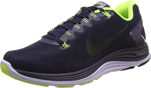 Nike WMNS Lunarglide+ 5 Blk, paniers Basses Femme