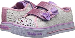 SKECHERS KIDS - Twinkle Toes: Shuffles - Sweet Steppers 10897N Lights (Toddler/Little Kid)