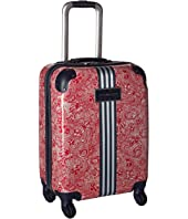 "Tommy Hilfiger TH-683 Pineapple Palm 21"" Upright Suitcase"