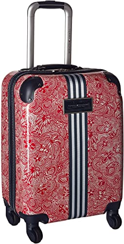 "TH-683 Pineapple Palm 21"" Upright Suitcase"