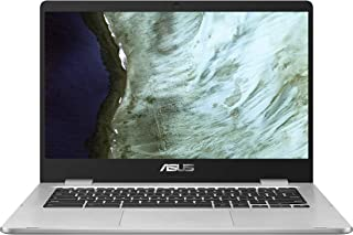 ASUS Chromebook C423NA (90NX01Y1-M05240) 35.5 cm (14 Zoll, Full HD, IPS-Level, NanoEdge, Touch) Notebook (Intel Celeron N3...
