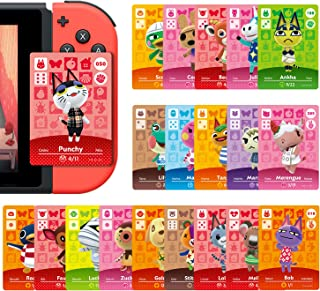 24 Pcs ACNH NFC Tags Game Cards for ACNH New Horizons, Compatible with Switch/Lite/Wii U/New 3DS.