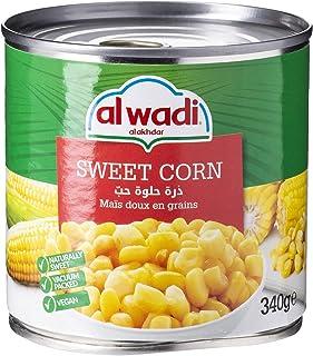 AL Wadi Golden Sweet Corn, 170g (Pack of 1)