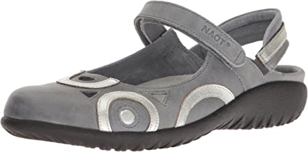 NAOT Women's Rongo, Vintage Slate Leather/Silver Luster Leather, 41 (US Women's 10) M