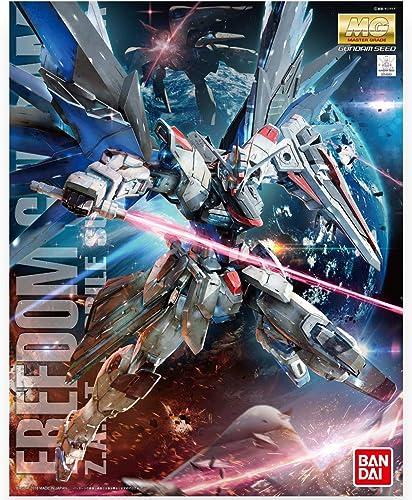 GUNPLA BANDAI Bandai-Maquette Gunpla MG 1/100 Freedom GundamVer.2.0-Robot à construire-83297P/204883, 83297P, Multic...