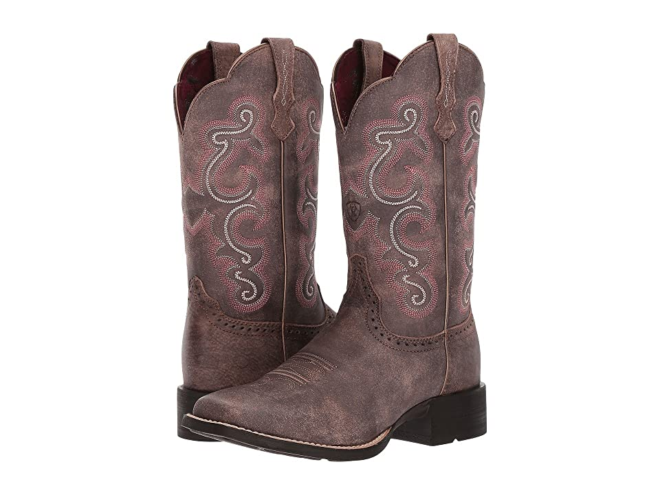 Ariat QuickDraw (Tack Room Chocolate) Cowboy Boots