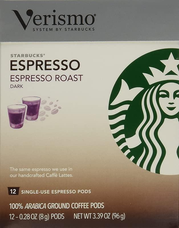 Starbucks Verismo Espresso Roast Espresso 72 Pods