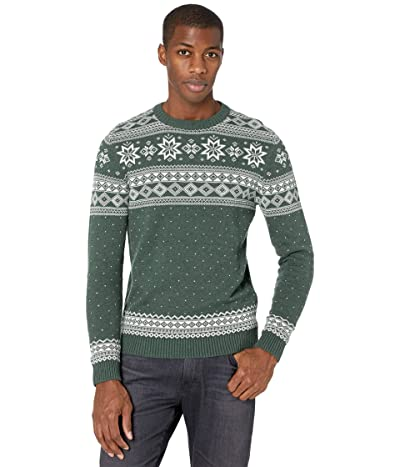 Selected Homme Flake Pattern Crew Neck Sweater (Sycamore) Men