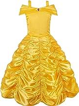 JerrisApparel Ragazza Principessa Cenerentola Costume Manicotto a Sbuffo Festa Vestito