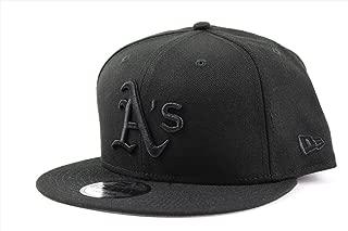 NEW ERA (ニューエラ) キャップ MLB スナップバック 9FIFTY BLACK ON BLACK アメリカンリーグ
