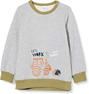 Fred'S World By Green Cotton Tractor Sweatshirt Maillot de survêtement Bébé garçon