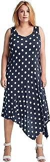 Ellos Women's Plus Size Hanky Hem A-Line Dress