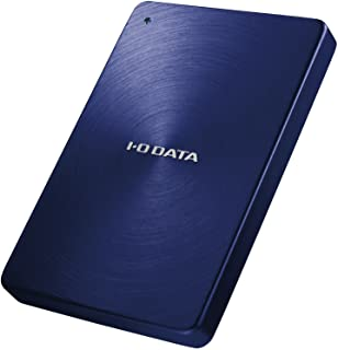 I-O DATA 外付けHDD ハードディスク 2TB ポータブル カクうす アルミボディ 日本製 HDPX-UTA2.0B