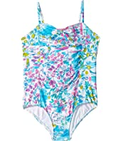 UPF 50+ Mini Plumeria Swim (Toddler/Little Kids/Big Kids)
