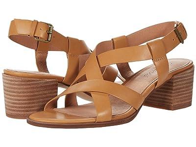 Madewell Odel Asymmetric Sandal (Amber Brown) Women