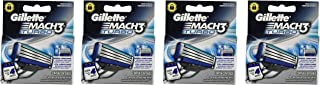 Gíllette Mach 3 Turbo Razor Refill Cartridges 16-Count (Packaging may vary)