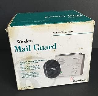 Radio Shack Wireless Mail Guard, Audio & Visual Alert