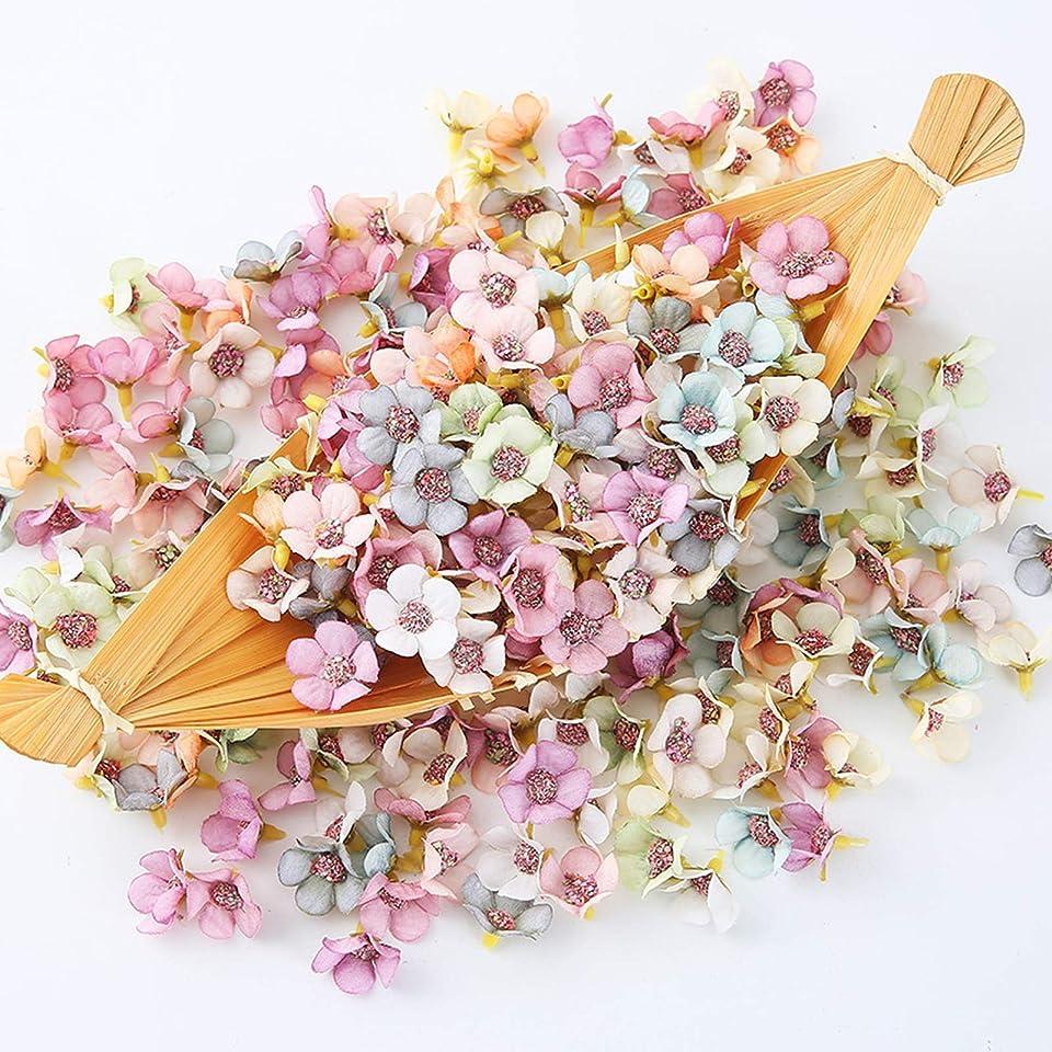 100 Stücke Künstliche Blumen,Künstliche Blumen Gänseblümchen Blütenköpfe,Mini Seidenblumen für Basteln,Köpfe Kunst Blumen,Blüten-Köpfe,künstliche Kunstblumen Seide Kunstblumen Köpfe Deko