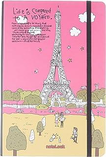 Scrikss Paris Defter, Çizgili, A5, Voyage