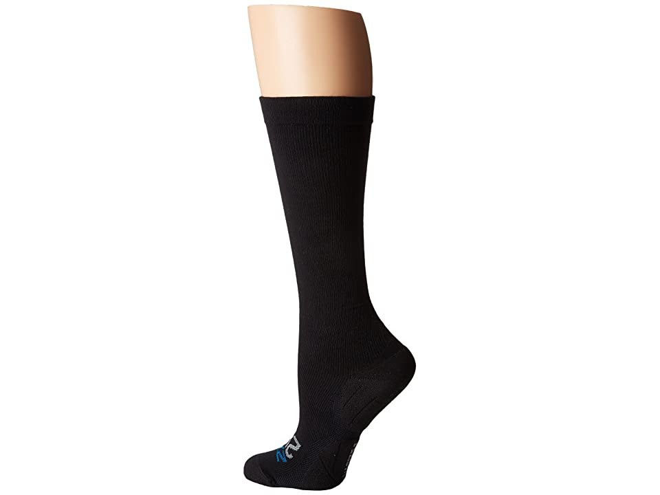 Image of 2XU 24/7 Compression Socks (Black/Black) Women's Knee High Socks Shoes