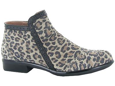 Naot Nefasi (Cheetah Suede/Jet Black Leather) Women