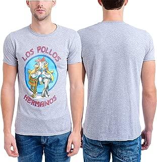 Breaking Bad Men's Los Pollos Hermanos T-Shirt, Heather