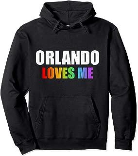 Orlando Gay Pride LGBT Rainbow Love Florida Men Women Gifts Pullover Hoodie
