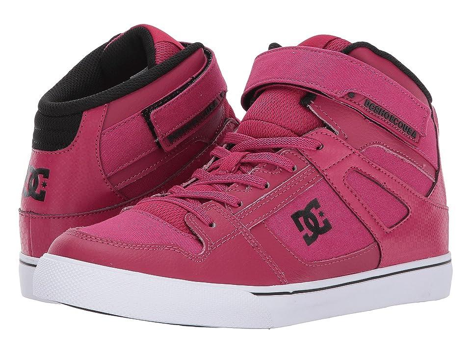 DC Kids Spartan High EV (Little Kid/Big Kid) (Raspberry) Girls Shoes