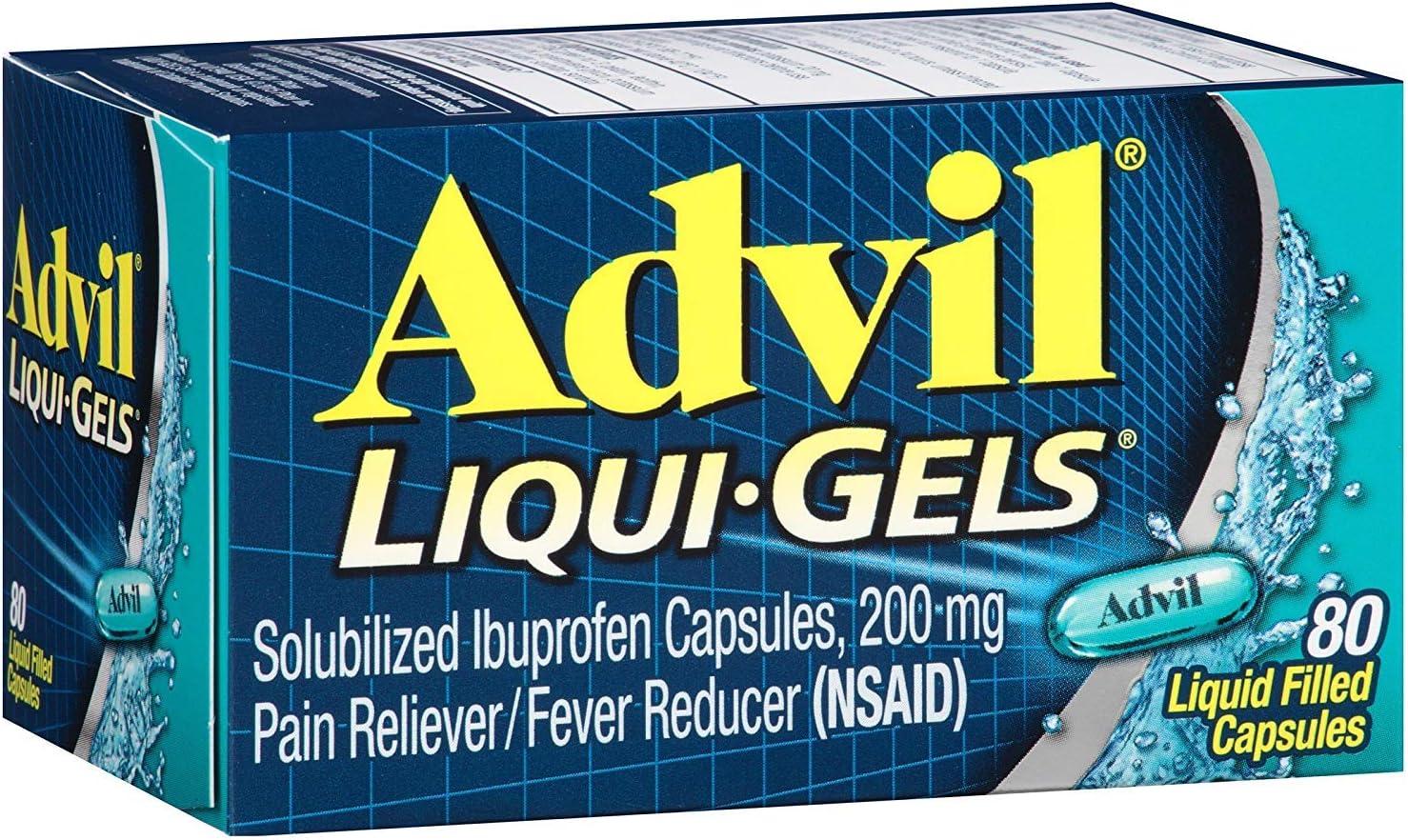 Advil Advanced Medicine for Pain 4 years warranty shopping Ea 80 200mg Liqui-gels
