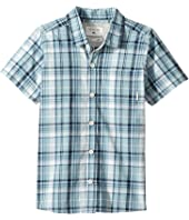 Quiksilver Kids - Everyday Check Short Button Up Sleeve Shirt (Toddler/Little Kids)