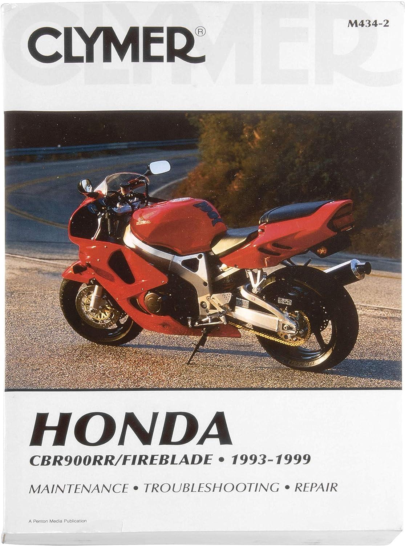 1993-1999 Honda CBR900RR MANUAL HONDA Lowest price challenge CLYMER Quality inspection