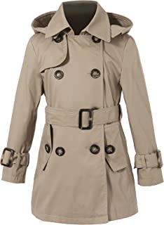 khaki trench coat costume