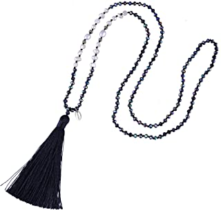 Best necklaces black and white Reviews