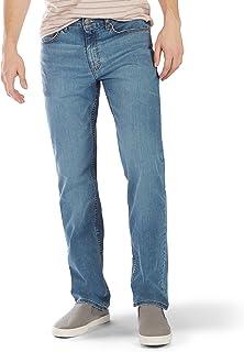 LEE 男式高级弹性牛仔布经典版型