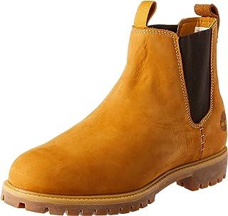 Timberland Men's 6in Premium Chelsea Boots, Wheat Nubuck