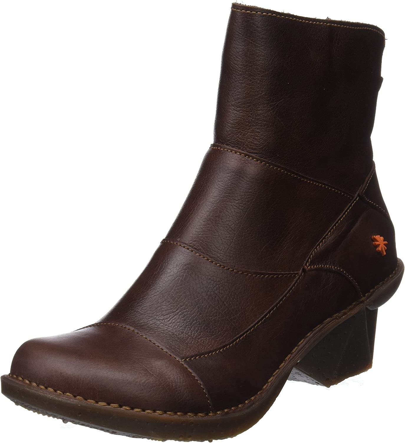 Art Womens 0621 Oteiza Brown Leather Boots 40 EU