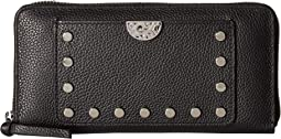 Pretty Tough Rox Large Zip Wallet
