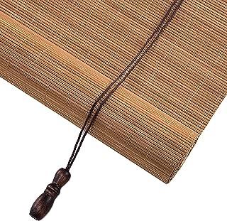 Van hoge kwaliteit Venster/Deur Outdoor Roll-up Blinds met Montage, Japans-stijl Bamboe Roller Schaduw voor Galerij Tea Ro...