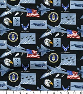 air force cotton fabric