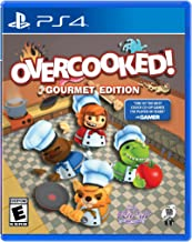 Overcooked Gourmet Edition Video Game (PS4)