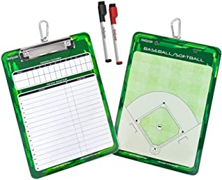Best GoSports Coaches Boards - 2 Sided Premium Dry Erase Clipboards - Choose from Baseball, Basketball, Football, Soccer, Hockey, Lacrosse, or Volleyball Review