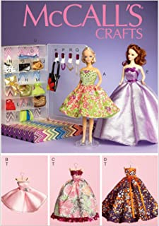 McCall's Patterns M6903OSZ Toy Clothes and Doll Accessories, for 11.5