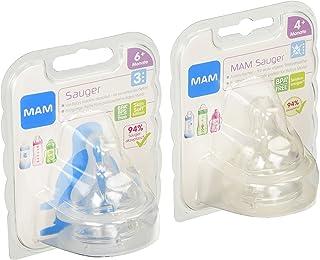 MAM Babyartikel - Pack de 4 tetinas (2 x medida 3 y 2 x