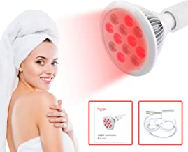 Red Light Therapy Complete Set Red 660nm Near Infrared 850nm, High Irradiance Over 100mW/cm2 for Anti-Aging, Fat Loss, Muscle Gain, Performance, and Brain Optimization. Manual Included. HG24
