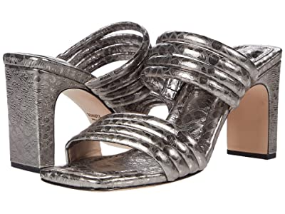 Schutz Naiara (Soft Croco Metal) High Heels